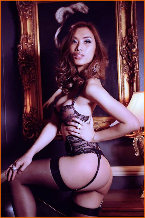 London Ladyboy Belle